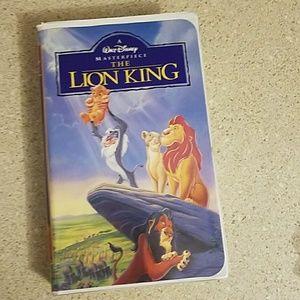 Walt Disney Lion King vhs